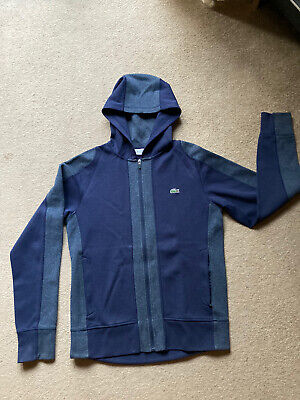 £20 • Buy Lacoste Hoodie Small (FR3) Blue. Perfect Condition. Tailored Fit.