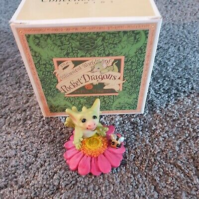 £8.99 • Buy Pocket Dragon Stop And Smell The Flower Boxed
