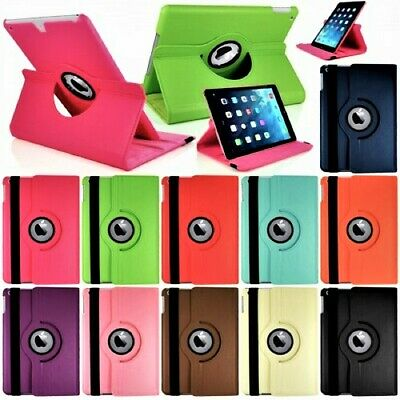 £5.09 • Buy Leather 360 Rotating Case Cover For Apple IPad 10.2 9th Generation Air 1 2 Mini