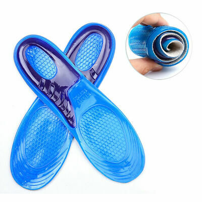 £4.25 • Buy Work Boots Orthotic Foot Arch Heel Support Shoe Inserts Massaging Gel Insoles