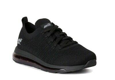 £20.84 • Buy Avia Men's Black Lace-up 02 Air Knitted Enduropro Athletic Sneaker Shoes: 8-11