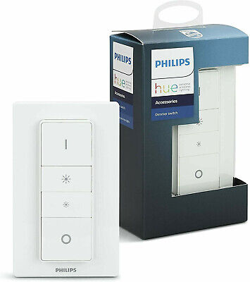 AU36.95 • Buy PHILIPS Hue Dimmer Switch Remote For Smart Home LED Light Bulbs Zigbee BRAND NEW