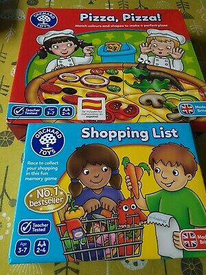 £7.50 • Buy Orchard Toys Pizza Pizza And Shopping List Age 3-7 Years Complete