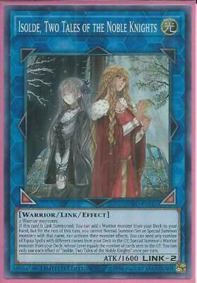 AU14.99 • Buy Yugioh - Isolde, Two Tales Of The Noble Knights *Super Rare* SOFU-ENSE1 (NM/M)