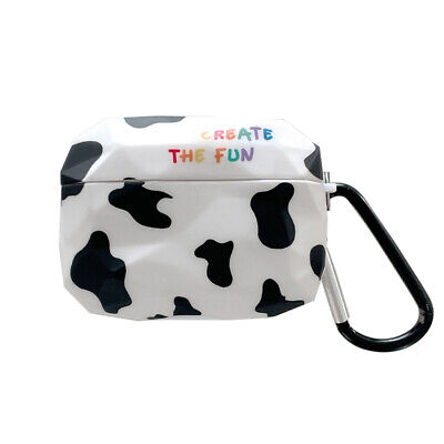 $ CDN10.02 • Buy Milk Cow Airpods Protective Case 360° Full Cover For Airpods Wireless Earphone