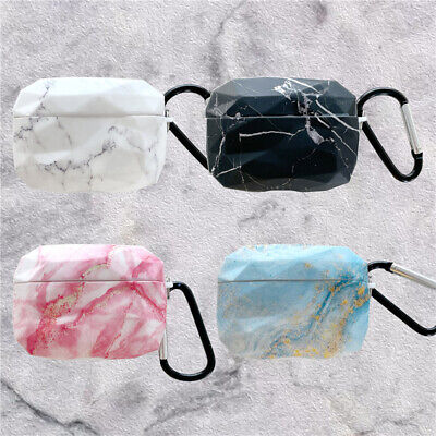 $ CDN10.02 • Buy 3D Diamond Marble Airpods Protective Case Cover For Apple Airpods Pro Earphone