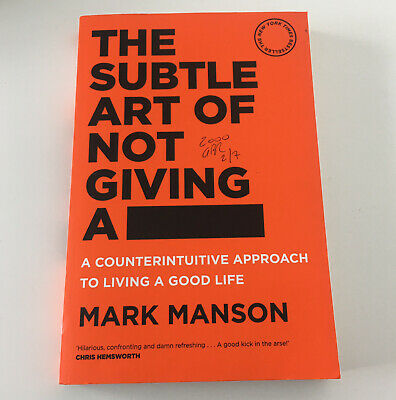 AU17.95 • Buy The Subtle Art Of Not Giving A F*ck: A Counterintuitive Approach To Living A...
