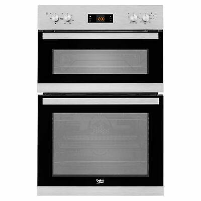 £219.99 • Buy New Prima PRDO302 BUILT-IN 88cm EYE LEVEL Double Electric Oven Black -COLLECTION