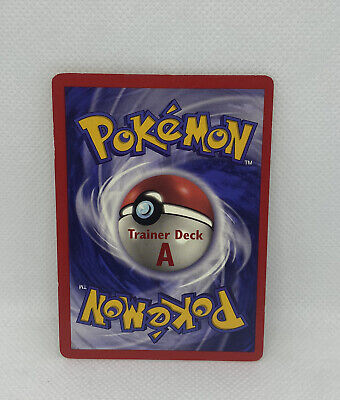 $99.99 • Buy Pokemon Fighting Energy TRAINER DECK A Base Set Extremely Rare LP Lightly Played
