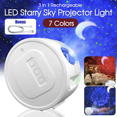 AU35.99 • Buy LED Star Night Light Projector Galaxy Starry Ocean Star Sky Party Lamp Kids Gift