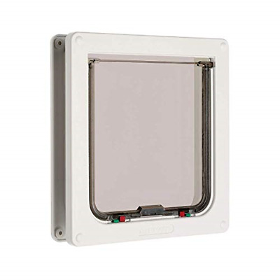 £18.51 • Buy Cat Mate 4-way Locking Cat Flap  For Large Cats And Small Dogs - White