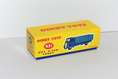 £6.99 • Buy DINKY Reproduction Box 431 (511) Guy 4-Ton Lorry Repro.
