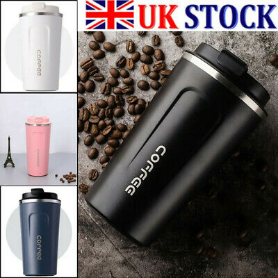 £7.69 • Buy Leakproof Insulated Travel Coffee Mug Cup Thermal Stainless Steel Flask Vacuum