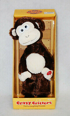 £33.63 • Buy Crazy Critters Furry Laughing Friends Monkey Toy By Flipo  Rare  New  S9839