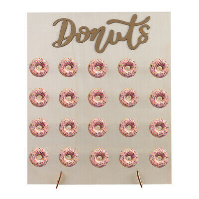 £11.99 • Buy 20x Donut Doughnut Wall Stand Party Sweets Candy Cart Wedding Favour Birthday