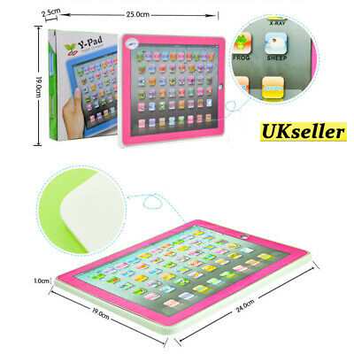 £8.39 • Buy Kids English Computer Educational Learning Skill Tablet Children Toy Christmas