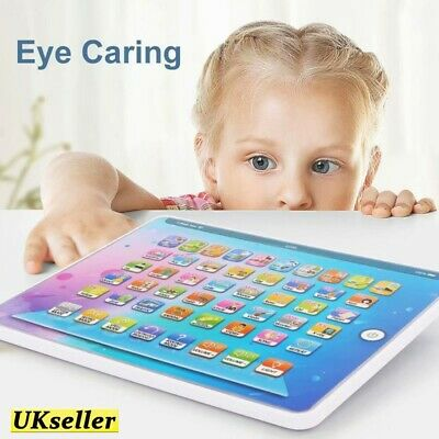 £8.80 • Buy Baby English Tablet Early Educational Language Learning Toys Kids Gift Christmas