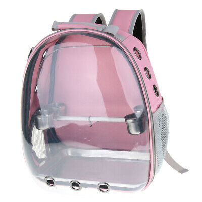 £45.10 • Buy Bird Carrier, Front Cover Clear View Travel Cage Bag Space Capsule