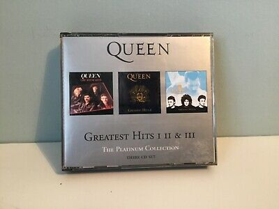£8.99 • Buy Queen – Greatest Hits I II & III (The Platinum Collection) - 3 CD Fatbox