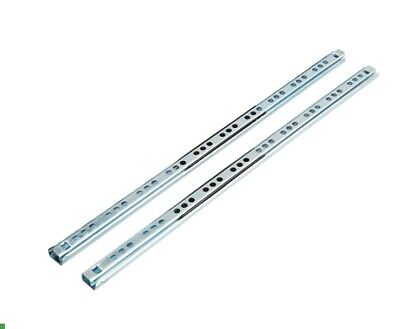 £1.19 • Buy Ball Bearing Cabinet 17mm Grooved Drawer Runners From 182 To 430 Mm Fit Mfi Ikea