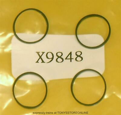 £4.25 • Buy Hornby X9848 & Mainline Class 42 Oo Spares 1x Pack Of 4 Traction Tyres (11mm)