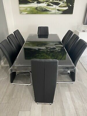 AU800 • Buy 8 Seater Dining Table And Chairs
