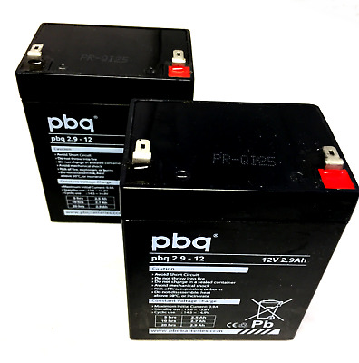£26.90 • Buy FREEWAY M250 & M180 Mobile Hoist -  TWO X Replacement ReChargeable Batteries
