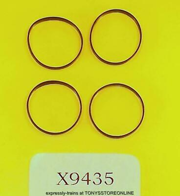 £4.25 • Buy Hornby Oo Spares X9435  1x Pack Of 4 Traction Tyres (16mm) - Thin For Dcc 0-6-0