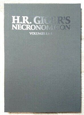 £726.22 • Buy H.R. Giger's Necronomicon Volumes 1 & 2 Hand Signed By Giger #62/666 Rare Flawed