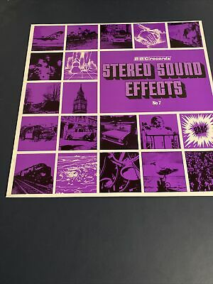 £6 • Buy BBC RECORDS - STEREO SOUND EFFECTS - No 7 - 12  Vinyl LP RED113S - 1971 Ex/Ex