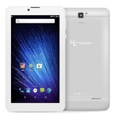 £30 • Buy YUNTAB 7 Inch Android 6.0 3G Unlocked Smart Tablet Quad Core