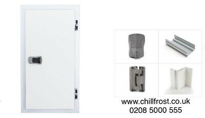 £420 • Buy 80 X 180 CM Cold Room Door With 3 Sided Frame Chiller Coldstore Cool Room