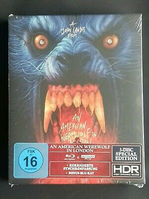 £94.99 • Buy AN AMERICAN WEREWOLF IN LONDON 4k Uhd + Blu Ray 3 Disc Special Edition - Import