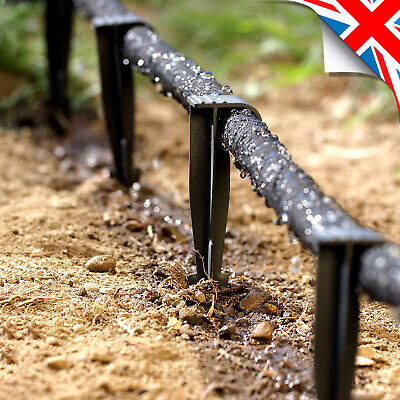 £12.99 • Buy WATER PEGS - For POROUS PIPE Soaker Hose Leaky Pipe Garden Irrigation System