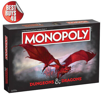 AU58.91 • Buy Pre-order New - Monopoly Dungeons & Dragons Board Game