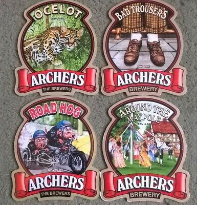 £1.27 • Buy Four Archers Brewery Real Ale Beer Pump Clips