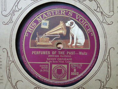 £3.99 • Buy SAVOY ORPHEANS - Perfumes Of The Past / My Irish Sweet Home 78 Rpm Disc