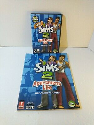 £16.27 • Buy The Sims 2 Apartment Life PC Expansion Pack W/ Strategy Guide Bundle Complete