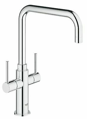 £142.99 • Buy Grohe Ambi Mono Mixer Kitchen Tap Chrome For High & Low Pressure Systems