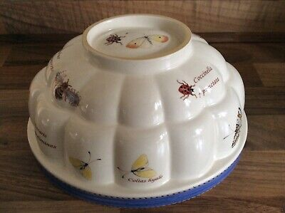 £22.99 • Buy Beautiful Wedgwood Sarah's Garden Jelly Mould Bees Butterflies Perfect Condition
