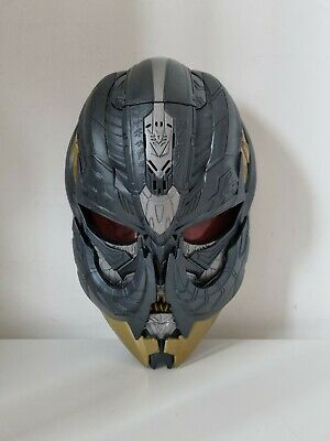 £19.95 • Buy Transformers The Last Knight Megatron Voice Changing Mask With Moveable Tusks