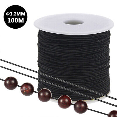 £2.99 • Buy 109 Yards Elastic Beads Thread Cord String For Necklace Bracelet Jewelry UK