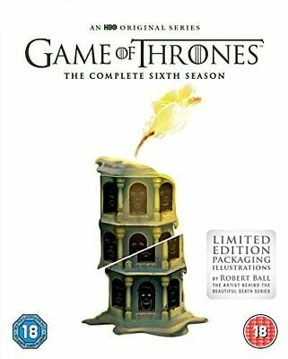 £9.99 • Buy Game Of Thrones: Season 6 [Limited Edition Sleeve] [2016] (DVD)
