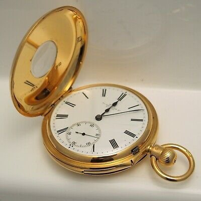 £4895 • Buy Dent 1895 18ct Yellow Gold Minute Repeater Pocket Watch - 152.1g