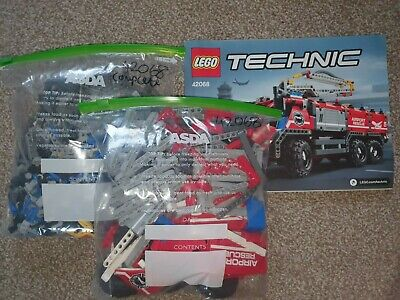 £76 • Buy LEGO Technic 42068 Airport Rescue Vehicle Complete Fire Engine
