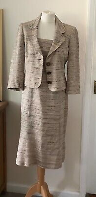 £16.99 • Buy Phase Eight Dress And Jacket Suit Size 12 Lined Retro