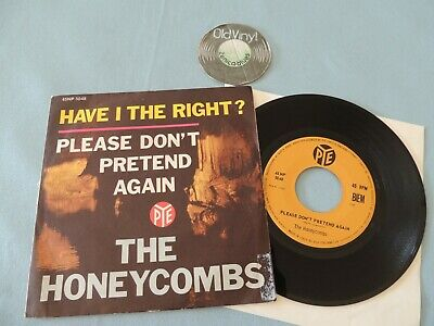 £24.84 • Buy 7  Single The Honeycombs Have I The Right 1964 Italy  Mint-