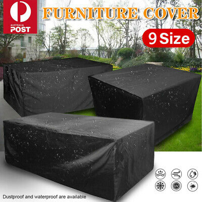AU30.79 • Buy Outdoor Furniture Cover UV Waterproof Garden Patio Table Chair Shelter Protector