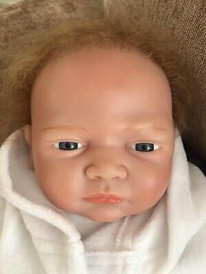 £39.99 • Buy Reborn Baby Doll Soft Bodied Rooted Hair