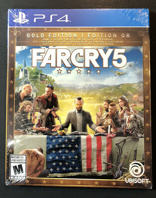 AU184.71 • Buy Far Cry 5 GOLD Edition [ Game + Season Pass + STEELBOOK Package ] (PS4) NEW